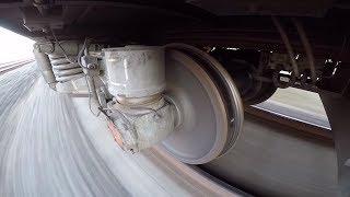 [GoPro] Тележка пассажирского вагона 68-4096 / Passenger car bogie 68-4096