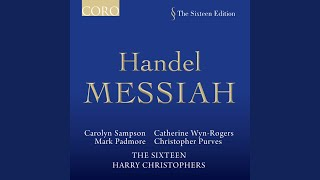 Messiah: Part 2, Thou art gone up on high (Air, Alto)