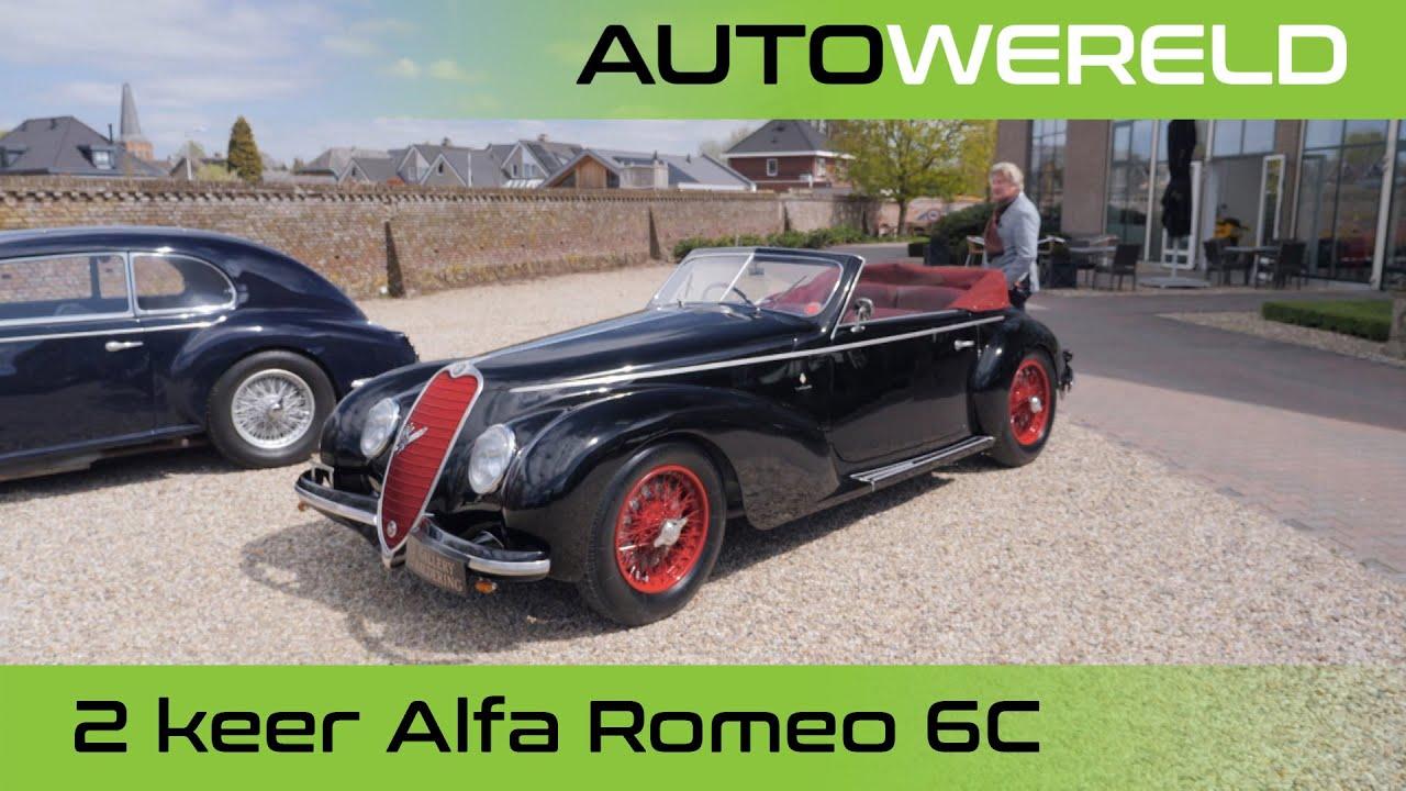 Twee Alfa Romeo 6c' s | Nico Aaldering
