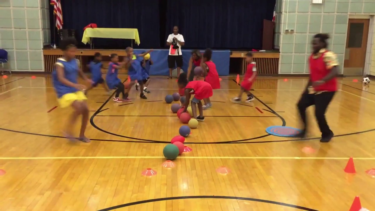 Recess at Mary Bethune School