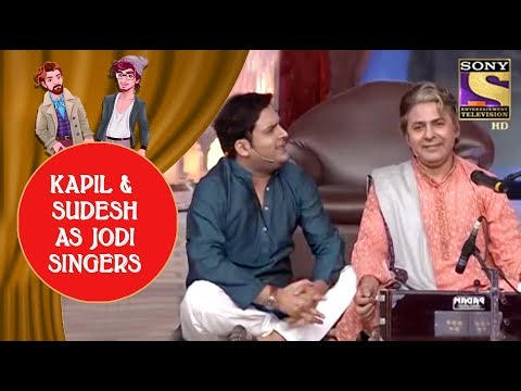 Kapil And Sudesh As Best Jodi Singers - Jodi Kamaal Ki