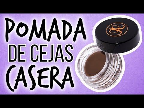 Pomada para Maquillar Cejas CASERA · Probando Receta
