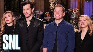 Kate McKinnon Is Worried About Matt Damon - SNL
