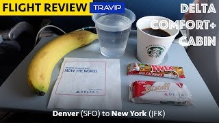 Delta Comfort+ Review: Denver to New York JFK | Travip Flight Review