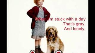 Tomorrow- Annie Lyrics♥