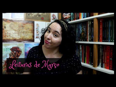 Vlog de Leituras de Março (2021) | Raíssa Baldoni