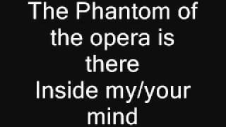 The Phantom Of The Opera (Lyrics)