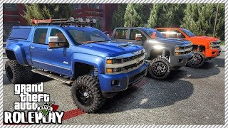 GTA 5 Roleplay - Ultimate Chevy Offroad Trucks | RedlineRP #281