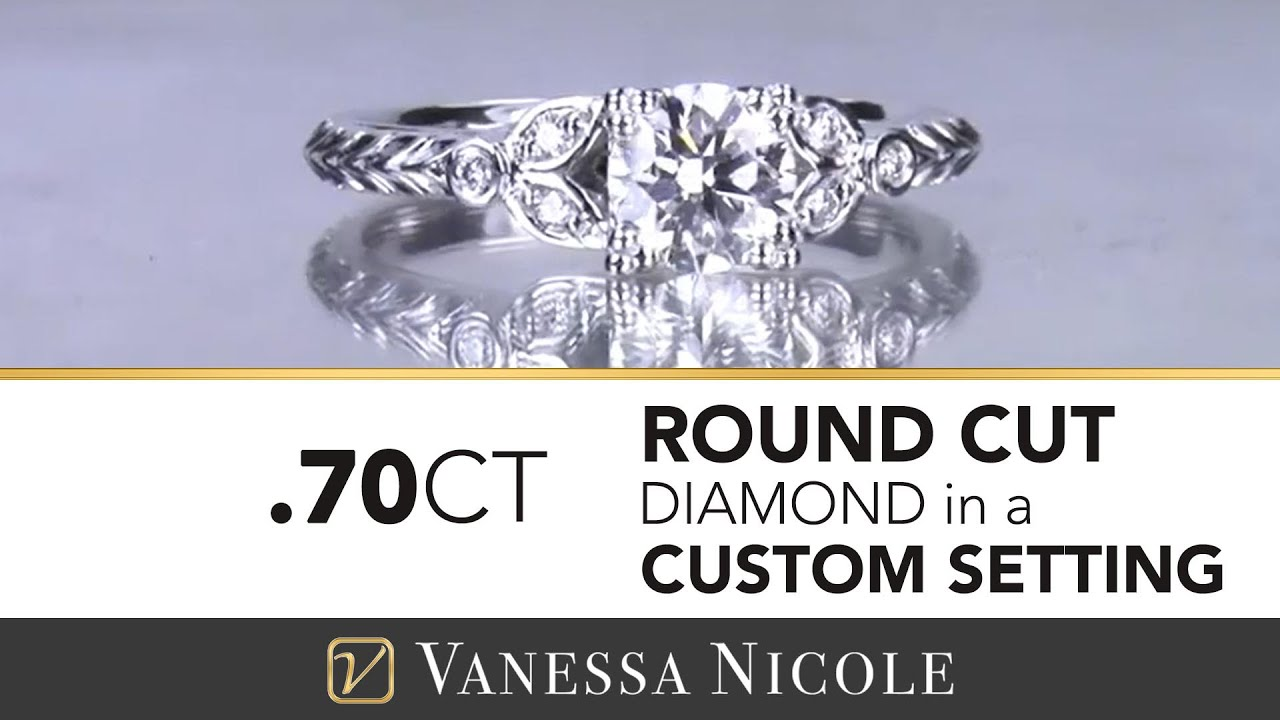 0.70ct Antique Diamond Ring