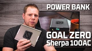 Goal Zero Sherpa 100AC Power Bank Review