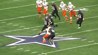 2017 5A D2 State Championship: College Station vs Aledo in 1 minute