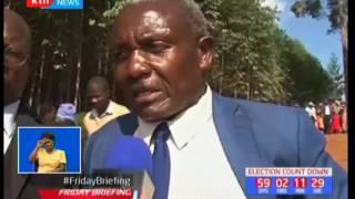The Kapsoya MCA aspirant's three children who were killed were laid to rest in Nyangusu-Kisii