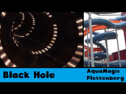 Extreme ''Black Hole'' waterslide - AquaMagis - [Onslide / POV]