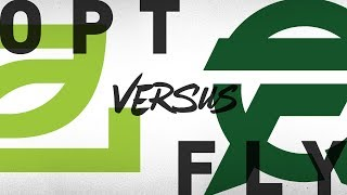 OPT vs. FLY - Week 7 Day 1   NA LCS Summer Split   OpTic Gaming vs. FlyQuest(2018)