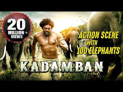 Kadamban Best Action Scene   100 REAL ELEPHANTS   Best Action Scene Ever!