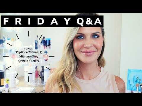 FRIDAY Q&A: Peptides+Vitamin C? | Microneedling | Nano | Growth Factors in Needling