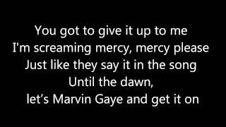 Charlie Puth ~ Marvin Gaye ft. Meghan Trainor Lyrics
