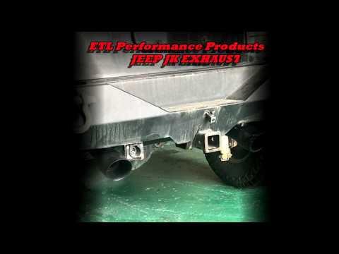 2007-2017 Jeep Wrangler JK catback exhaust kit