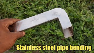 stainless steel pipe bending (how to bend stainless steel pipe)