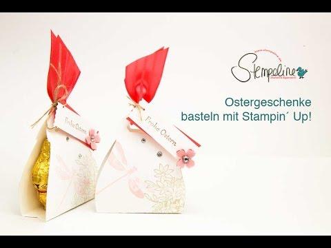 Kleine Ostergeschenke basteln mit Stampin´ Up!