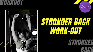 FITNESS 101 EP#15 : STRONGER BACK WORKOUT ✨ GET FIT #24