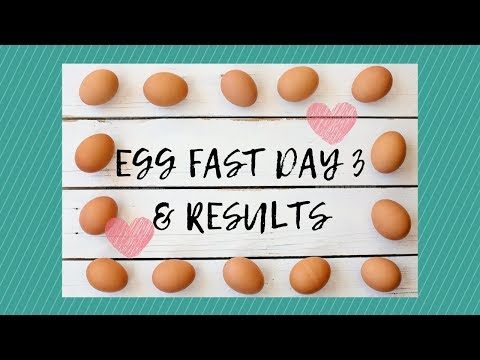 Keto Egg Fast Day 3 Results | Egg Fast