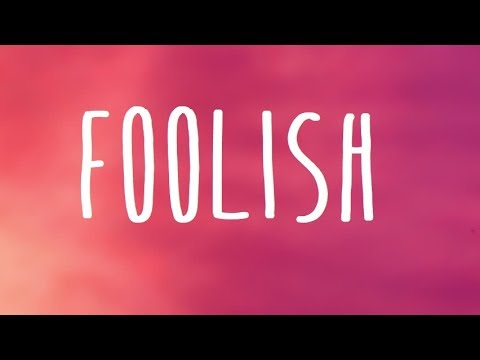 Meghan Trainor - Foolish Lyrics