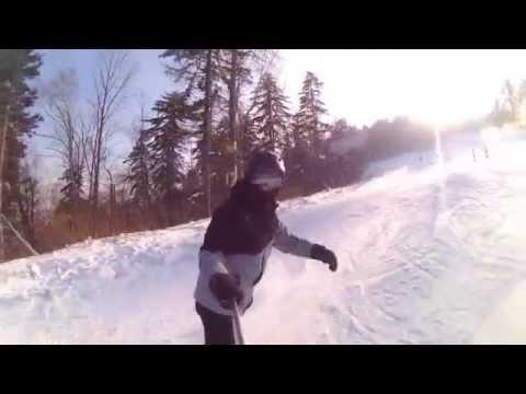 Видео: Видео горнолыжного курорта Восток (Арсеньев) в Приморский край