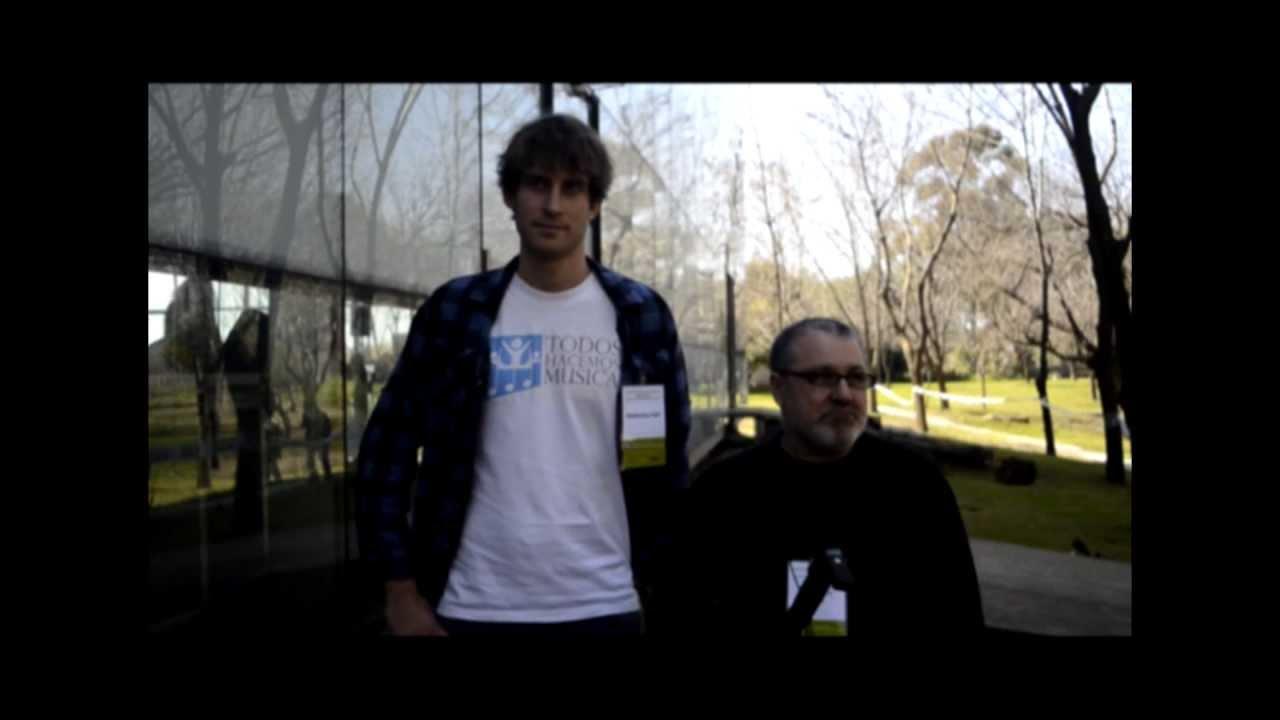 Entrevista a Gabriel Federico y Ralf Niedenthal de Centro Camino en el Congreso de Buenas Prácticas