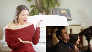 Vocal Coach Reacts to Voctave - O Come, All Ye Faithful