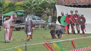 preview picture of video 'Elstow Village Fete 2009 - The Vikings'