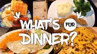 WHAT'S FOR DINNER | QUICK DINNER IDEAS