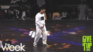 SLIM BOOGIE + BOOGALOO KIN + NELSON • POPPIN' JUDGE DEMO @ GIVE IT UP 2015