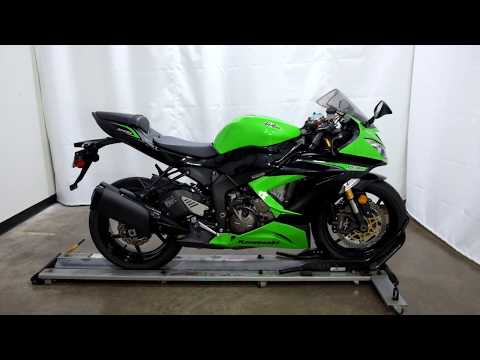 2013 Kawasaki Ninja® ZX™-6R in Eden Prairie, Minnesota - Video 1