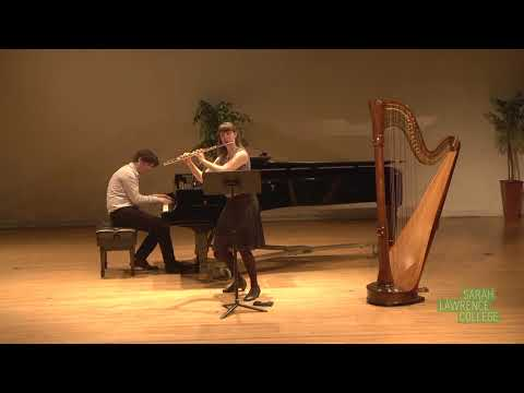 A performance of Francis Poulenc's Sonate for flute and piano.