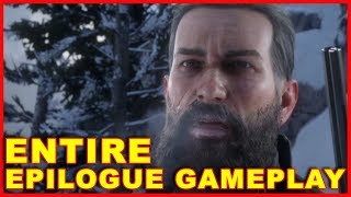 Red Dead Redemption 2 Entire Epilogue (John Marston Gameplay)