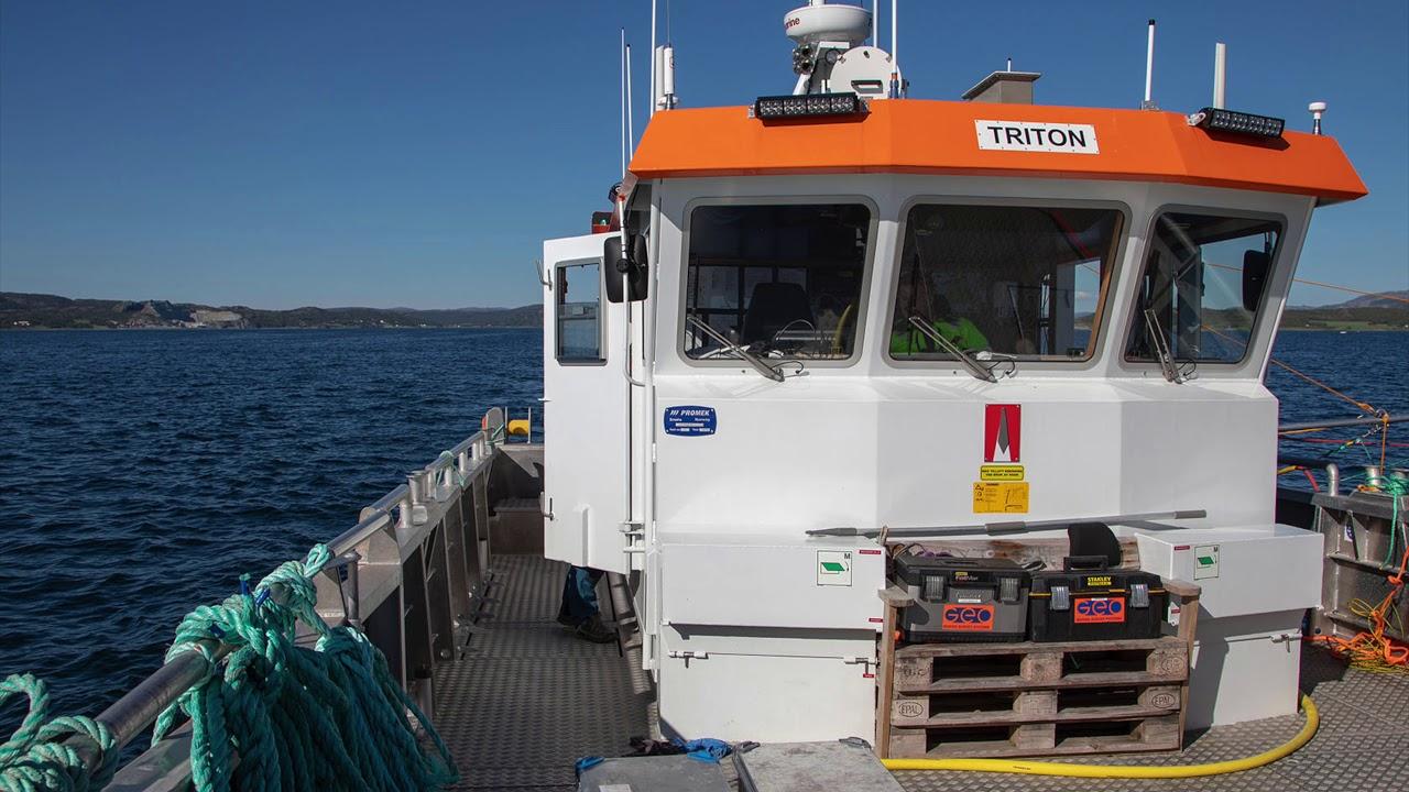 Akustiske undersøkelser Stjørnfjorden juni 2018