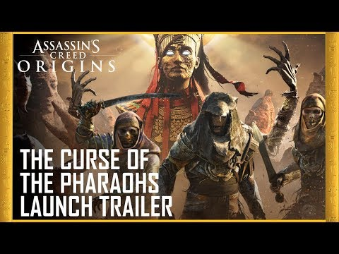 Assassin's Creed Origins: The Curse of the Pharaohs DLC  | Launch Trailer | Ubisoft [US] thumbnail
