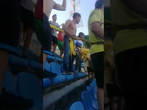 """""""Alianza petrolera 2 vs 2 Rionegro Aguilas Dominio Aurinegro"""" Barra: Dominio Aurinegro • Club: Alianza Petrolera"""