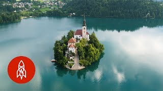 Visit the Slovenian Island on an Emerald Lake