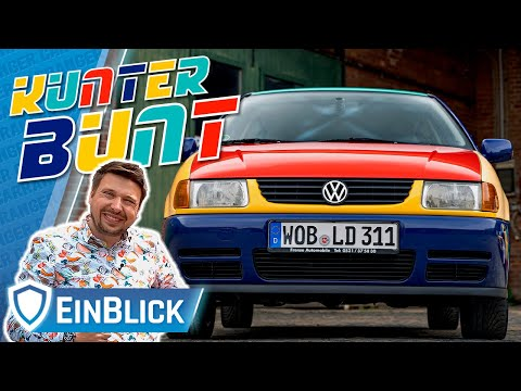 VW Polo Harlekin 1.4 (1996) - 90er Pop für Mutige! Vorstellung & Test