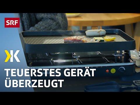 Tischgrills im Test: Gute Geräte gibt es ab 100 Franken  | 2018 | SRF Kassensturz
