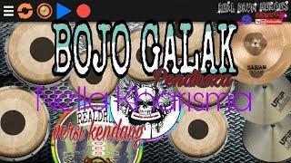 BOJO GALAK (Pendhoza) - Nella Kharisma cover - Versi Kendang