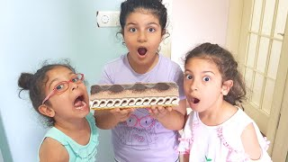 SILA MİRA YAĞMUR Çok Terlemiş Dondurmalı Pasta Yediler Eğlence Tv