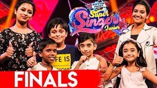 Super Singer Junior 6 Final Winner ? | Ahana, Hrithik & Poovaiyar | Vijay TV