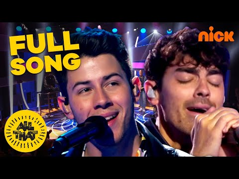 Jonas Brothers Perform Hit Song 'Cool' on All That | New Episodes Sat. @ 8:30P EST!