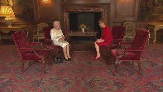 The Queen meets First Minister of Scotland