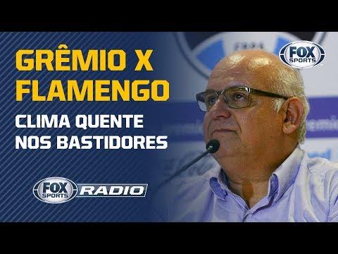 SOBERBA DO FLA? Presidente do Grêmio dispara contra o rubro-negro