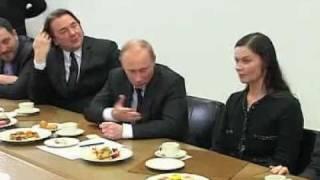 Путин и Познер