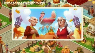 Homescapes Thanksgiving Complete Gameplay